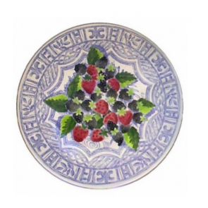 Oiseau Bleu Fruits Cake Platter