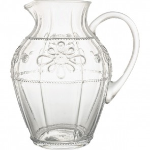 Colette Clear Footed Pitcher