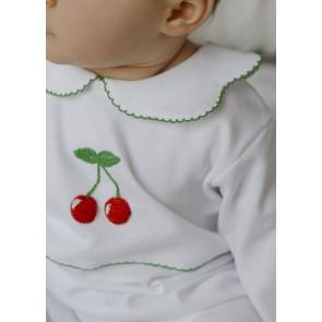 Little English, Cherry Crochet Playsuit