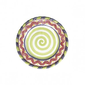 MacKenzie-Childs, Piccadilly Salad Plate