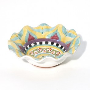 Taylor Fluted Rim Berry Bowl