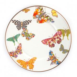 Butterfly Garden Enamel Salad/Dessert Plate