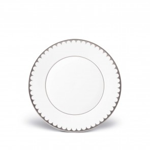 Aegean Filet Dessert Plate, Platinum