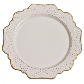 Anna Weatherley, Simply Anna Antique Polka Dot Dinner Plate