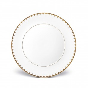 Aegean Filet Dinner Plate, Gold