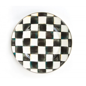MacKenzie-Childs, Courtly Check Enamel Dinner Plate