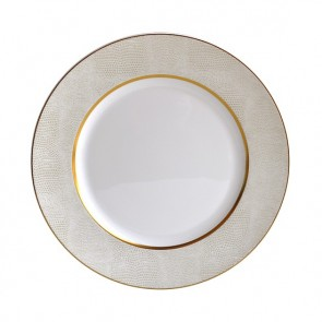 Bernardaud Sauvage White Dinner Plate