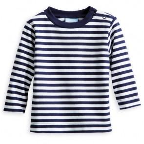 Bella Bliss, Baby Boatneck Tee - Navy/White