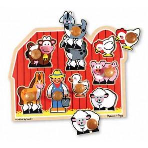 Farm Jumbo Knob Puzzle