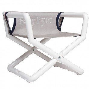 Gray Navy Canvas, Junior Director Chair