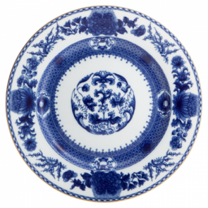 Mottahedeh, Imperial Blue Dessert Plate