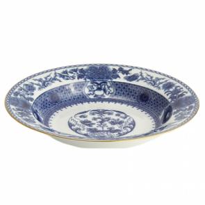 Mottahedeh, Imperial Blue Rim Soup