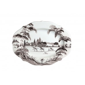 Flint Serving Platter, Medium