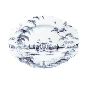 Flint Serving Platter, Large