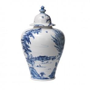 Delft Blue Tall Ginger Jar