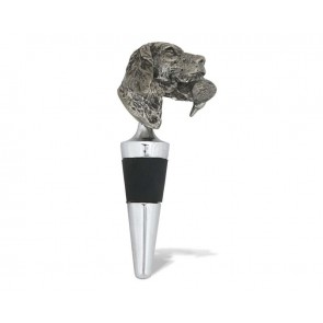Vagabond House, Labrador and Duck Pewter Bottle Stopper