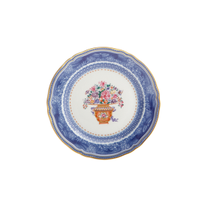 Mottahedeh, Mandarin Bouquet Dessert/Salad Plate