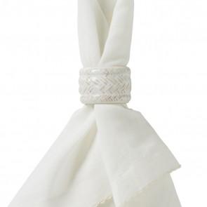 Juliska, Le Panier Whitewash Napkin Ring