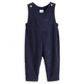 Bella Bliss, Navy Corduroy Overall