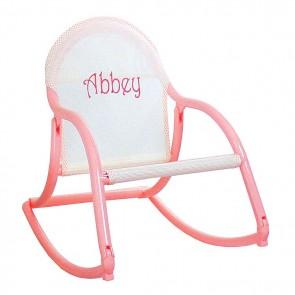 Pastel Mesh, Rocking Chair