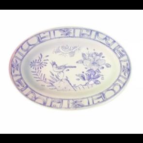 Oiseau Bleu Pickle Dish