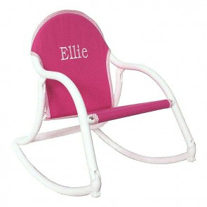 Pink Canvas, Rocking Chair