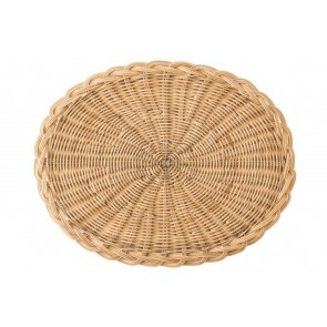 Juliska, Braided Basket Oval Natural Placemat