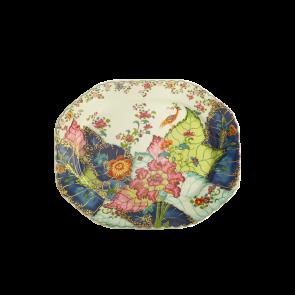 """Mottahedeh, Tobacco Leaf Octagonal Platter, 15"""""""