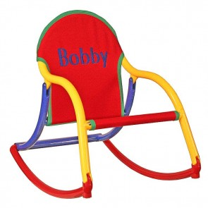 Primary Canvas, Rocking Chair