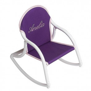 Purple Canvas, Rocking Chair