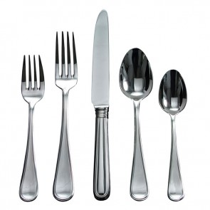 Ricci Argentieri, Ascot 5 Piece Stainless Flatware Place Setting