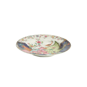 Mottahedeh, Tobacco Leaf Rim Soup Plate