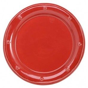 Berry and Thread Dinner Plate, Ruby