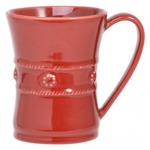 Berry and Thread Mug, Ruby