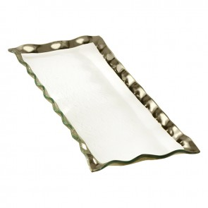 Ruffle Rectangular Tray