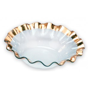 Ruffle Serving Bowl