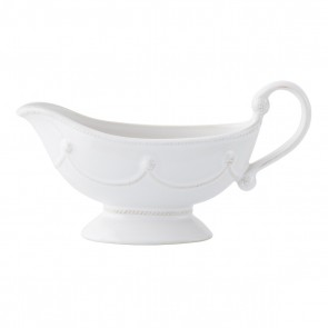 Berry and Thread Whitewash Sauce Boat