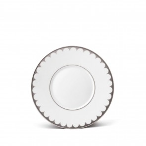 Aegean Filet Saucer Plate, Platinum