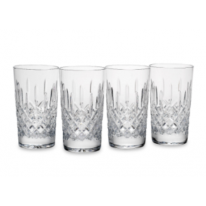 Reed and Barton, Hamilton Crystal 4-piece Double Highball Glass Set