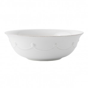 Berry and Thread Whitewash Serving Bowl, 9.5""