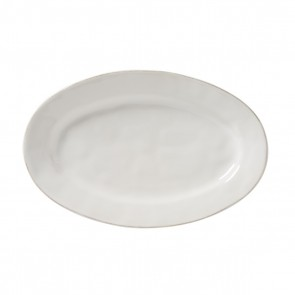 "Juliska, Puro Whitewash 15"" Oval Platter"
