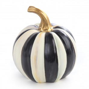 Courtly Stripe Pumpkin, Mini