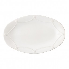 Berry and Thread Whitewash Oval Platter, 18""