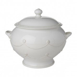 Berry and Thread Whitewash Soup Tureen