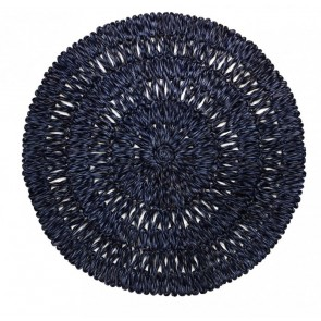 Juliska, Straw Loop Navy Blue Placemat