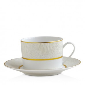 Bernardaud Sauvage White Tea Cup