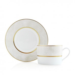 Bernardaud Sauvage White Tea Saucer