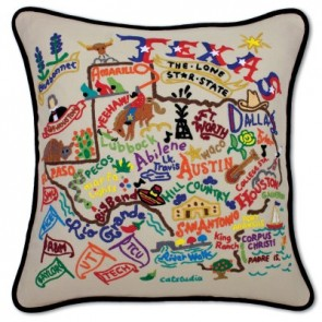 Cat Studio, Texas Pillow