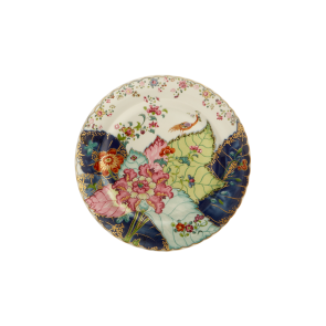Mottahedeh, Tobacco Leaf Dessert Plate