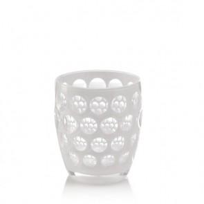 Mario Luca Giusti Lente Tumbler Glass, White